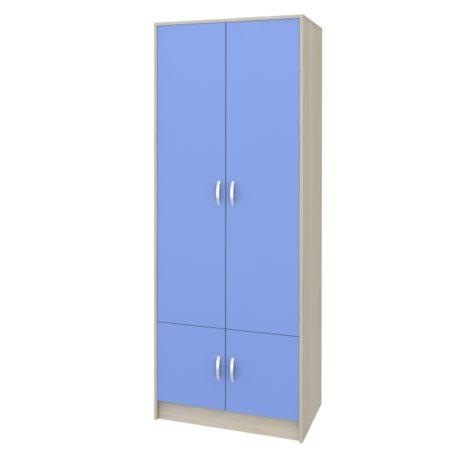 Шкаф от УШ-1 (Сосна Лоредо — Голубой)